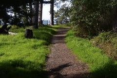 Nouveaux Brighton State Beach et terrain de camping, Capitola, la Californie photos stock