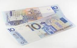 Nouveaux dix roubles biélorusses Photos libres de droits