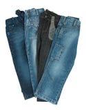 Nouveaux jeans Images stock