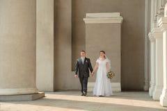 Nouveaux mariés Photographie stock libre de droits