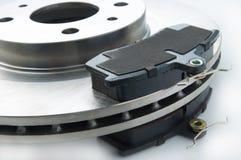 Nouveaux protections et disque de frein Image stock