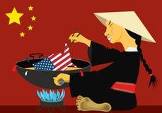 Nouveaux règlements douaniers chinois Images libres de droits