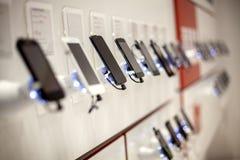 Nouveaux téléphones portables Photos stock