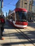 Nouveaux tramways de TTC Images stock