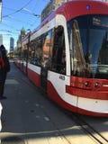 Nouveaux tramways de TTC Photographie stock libre de droits