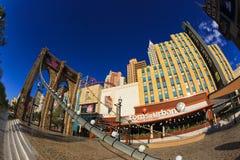 Nouveaux York-nouveaux casino et hôtel de York à Vegas Photo libre de droits