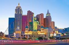 Nouveaux York-nouveaux hôtel et casino de York à Las Vegas photo libre de droits