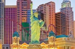 Nouveaux York-nouveaux hôtel et casino de York à Las Vegas images stock