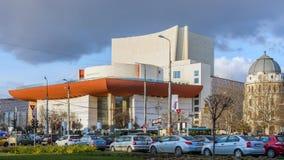 Nouvel édifice du Theat national Photographie stock libre de droits