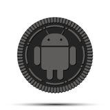 Nouvel Android du système d'exploitation mobile Oreo Photo libre de droits