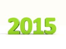 Nouvel 2015 ans Image libre de droits
