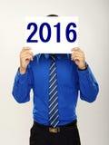 Nouvel 2016 ans heureux Photo stock