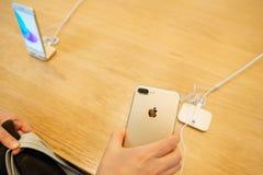 Nouvel appareil-photo de l'iphone 7 Photos stock