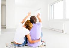 Nouvel appartement photos stock