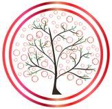 Nouvel arbre de ressort lame illustration stock