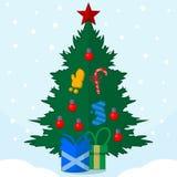 Nouvel arbre de YER Photo stock