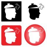 Nouvel ensemble d'icône d'idée image stock