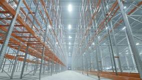 Nouvel entrepôt industriel léger moderne clips vidéos