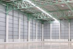 Nouvel entrepôt vide pour le loyer de client Photo libre de droits