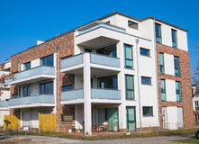 Nouvel immeuble à Berlin Image libre de droits