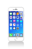 Nouvel iPhone 6 d'Apple Images stock