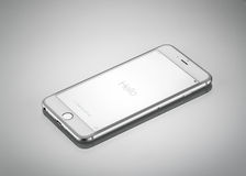Nouvel iPhone 6 Front Side plus d'Apple Photos libres de droits