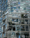 Nouvel in New York. One of the freshest residential facade designs from French architect Jean Nouvel on NYC's West Side Royalty Free Stock Photos
