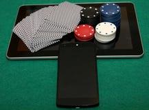 Nouvelle ère dans le casino en ligne Images libres de droits