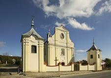 Nouvelle église dans Babice poland Photographie stock libre de droits