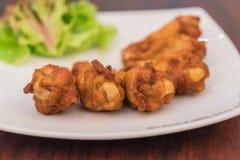 nouvelle aile de poulet orlean Photographie stock libre de droits