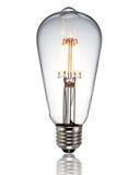 Nouvelle ampoule menée photo stock