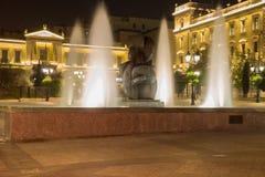 Nouvelle année à Athènes, la Grèce l'Europe Balkans Images stock