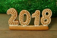 Nouvelle année 2018 Image stock