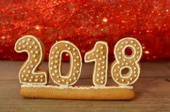Nouvelle année 2018 Photos stock