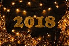 Nouvelle année 2018 Photo libre de droits