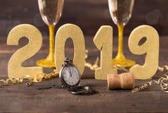 Nouvelle année 2019 Image stock