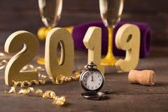 Nouvelle année 2019 Photo stock