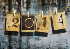 Nouvelle année 2014 Photo stock