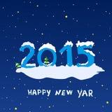 Nouvelle année Image libre de droits