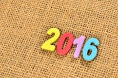 Nouvelle année 2016 Images libres de droits