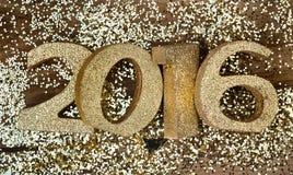 Nouvelle année 2016 Photographie stock