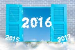 Nouvelle année 2016 Photo stock