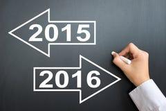 Nouvelle année 2016 Photos stock