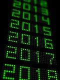 Nouvelle année 2017 illustration libre de droits