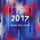 Nouvelle année 2017 Image stock