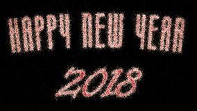 Nouvelle année 2018 Illustration de Vecteur