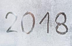 Nouvelle année 2018 Photographie stock