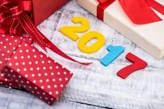Nouvelle année 2017 Photo stock