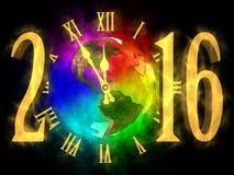 Nouvelle année Amérique 2016 Photos stock