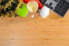 Nouvelle année au travail Image stock